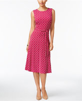 Charter Club Petite Iconic Fit & Flare Dress, Only at Macy's