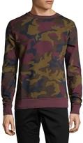 Wesc Men's Miles Camo Sweater