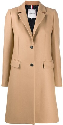 Tommy Hilfiger Essential single-breasted coat