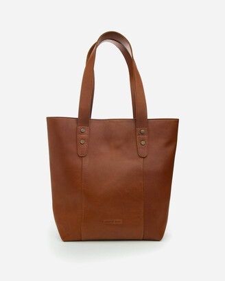 Stitch & Hide - Women's Brown Leather bags - Isabelle Bag - Size One Size at The Iconic