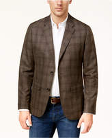 Michael Kors Men's Classic-Fit Tonal Check Blazer Created For Macy's