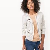 Molly Bracken Zip-Up Bomber Jacket