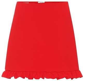 Miu Miu Crepe miniskirt