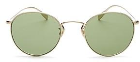 Oliver Peoples Unisex Coleridge Round Sunglasses, 50mm