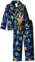 Nickelodeon Teenage Mutant Ninja Turtles Little Boys' Ninja Protection 2-Piece Pajama Coat