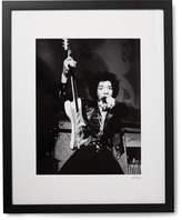 Sonic Editions Framed Jimi Hendrix, San Francisco Print, 17 X 21
