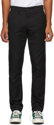 Carhartt Work In Progress Black Sid Trousers