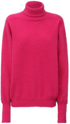 Maison Margiela Angora Blend Knit Sweater
