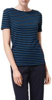 LK Bennett L.K.Bennett Aloha Stripe Linen T-Shirt