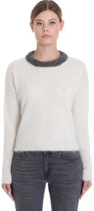 Mauro Grifoni Knitwear In White Wool