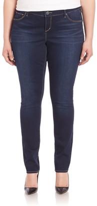 Slink Jeans, Plus Size Amber Wash Skinny Jeans