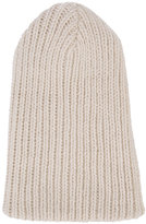 The Elder Statesman ribbed beanie - unisex - Alpaca - One Size