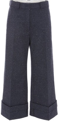 J.W.Anderson turn up cuffs trousers