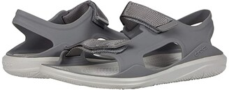 Crocs Swiftwater Expedition Sandal (Juniper/Stucco) Women's Shoes