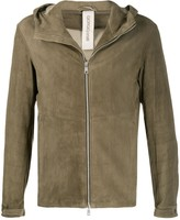 Giorgio Brato fitted hooded jacket