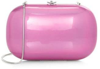 JEFFREY LEVINSON Elina Plus Chrome Gloss Clutch