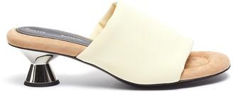 Proenza Schouler Vase Heel Almond Toe Padded Mules