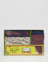 Original Penguin Trunk and Sock Gift Set