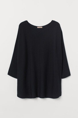 H&M H&M+ Knit Sweater - Blue