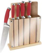 Classic Cuisine Cutting Board And Knife Block 7-pc Set