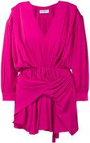 Balenciaga V-neck Uplifted dress - women - Silk - 34