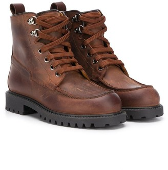 Gallucci Kids Cargo Ankle Boots