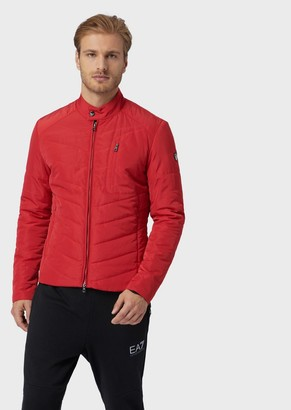 Emporio Armani Train Core Quilted And Padded Jacket