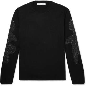 Comme des Garcons Intarsia Knitted Sweater