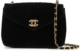 Chanel Pre Owned 1985-1993 Diamond Quilted Chain Shoulder Bag