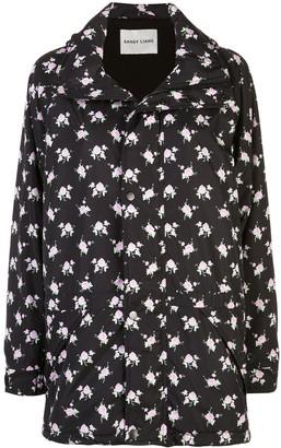 Sandy Liang Oliver floral printed jacket