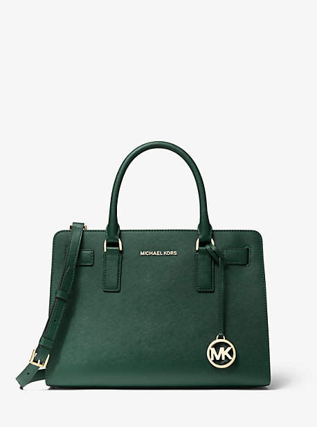Michael Kors Dillon Saffiano Leather Satchel