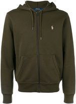 Polo Ralph Lauren zip front hoodie - men - Cotton/Polyester - XXL