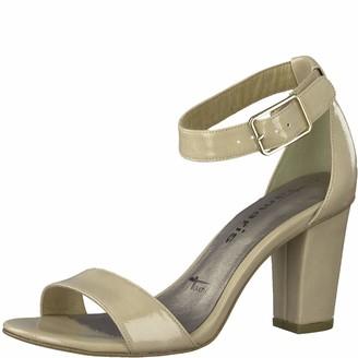 Tamaris Women Sandals 28018-24 Ladies Sandals Summer Shoes Open Heel Shoes high Heel Feminine