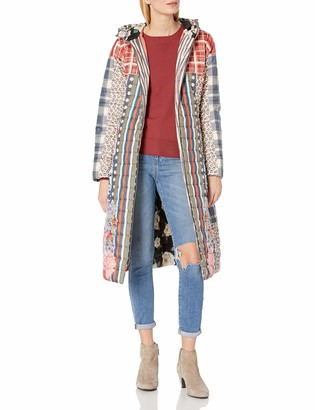 Johnny Was Women's Long Reversible Printed Parka
