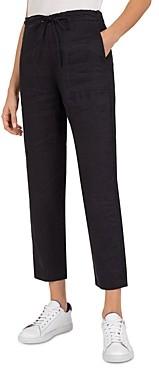 Gerard Darel Marielle Tie-Waist Linen Pants