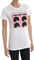 Bravado The Beatles White Hard Days Night Tee - Women