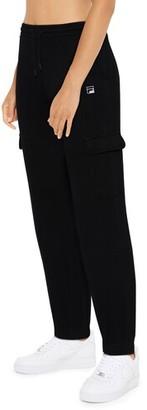 Fila Carine Cargo Jogger Pants - Black