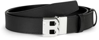 Bally Logo Leather Belt
