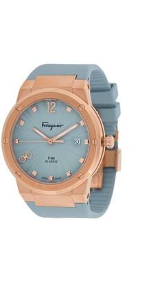Salvatore Ferragamo Watches F80 Classic Lady two-tone watch