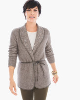 Chico's Embellished Tully Cardigan
