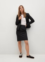 Thumbnail for your product : MANGO Cotton pencil skirt
