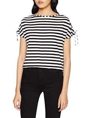 Sisley Women's T-Shirt, (Black 700), Small
