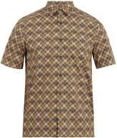 Prada Floral-print cotton shirt