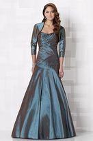 Mon Cheri Cameron Blake by Mon Cheri - 212673 Long Dress In Patina