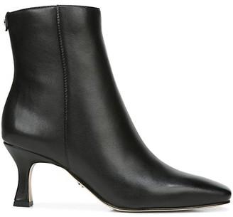 Sam Edelman Lizzo Square-Toe Leather Boots