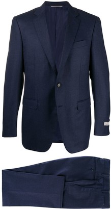 Canali Fitted Single Breasted Suit