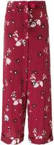 Valentino floral print palazzo pants