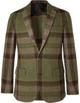 Polo Ralph Lauren Morgan Checked Wool and Alpaca-Blend Blazer