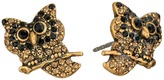 Marc Jacobs Charms Owl Studs Earrings Earring