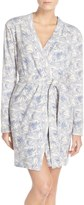 UGG Clio Island Floral Print Waffle Knit Robe
